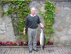 19 lb salmon, from Huntly Association fishings