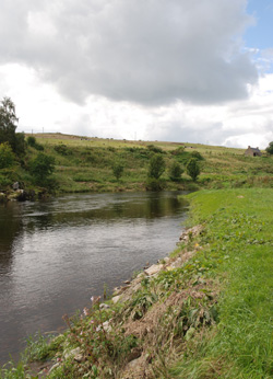 Lower Netherdale, Bremners Rock, River Deveron